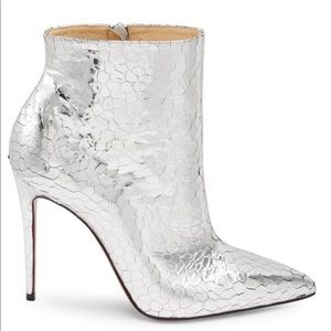 NIBChristian Louboutin So Kate Mirrored Booties 39